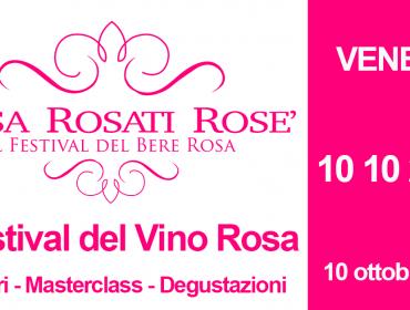 """Muscazega Rosato nella Guida """"Rosa Rosati Rosè"""""""